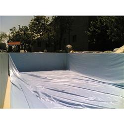 Piscine en kit Polystyrène 6x3 fond plat 1m50 avec escalier droit