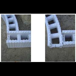 Piscine en kit Polystyrène 8x4 fond plat 1m50 sans escalier