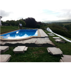 Rénovation de piscine (revêtement, local technique….)