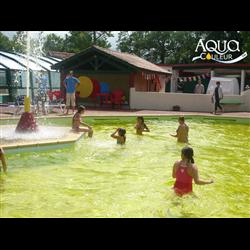 Colorant éphémère pour piscine Aquacouleur Mangue