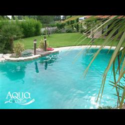Colorant éphémère pour piscine Aquacouleur Lagon