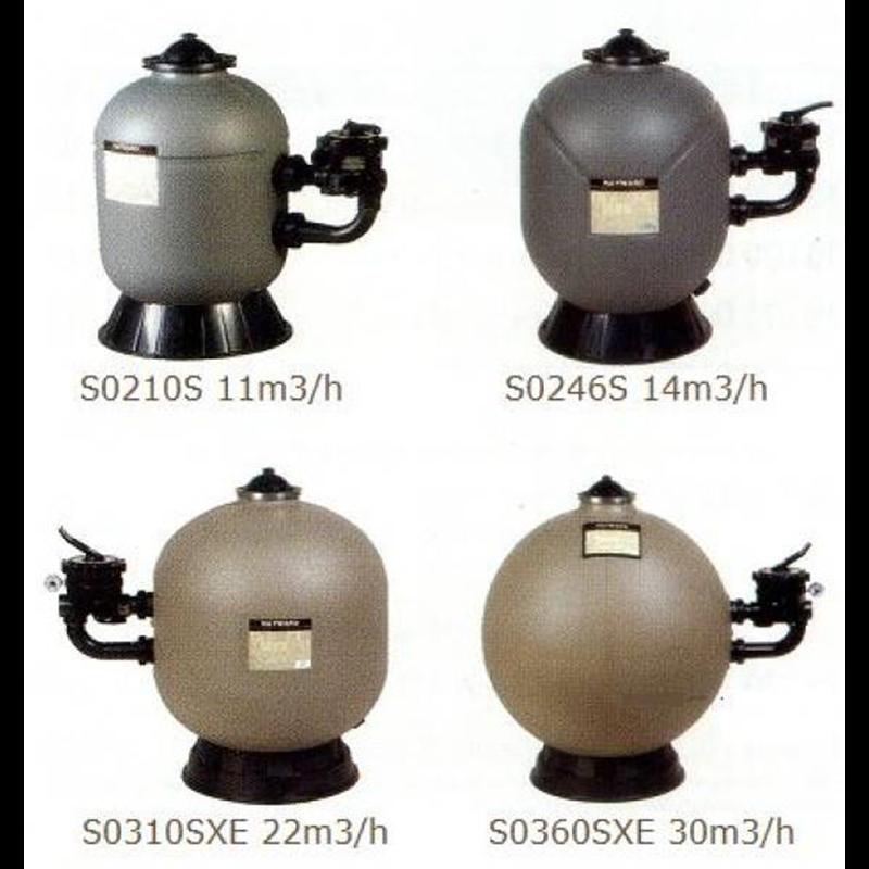 filtre sable hayward s rie pro side 14m3 h a z piscine. Black Bedroom Furniture Sets. Home Design Ideas