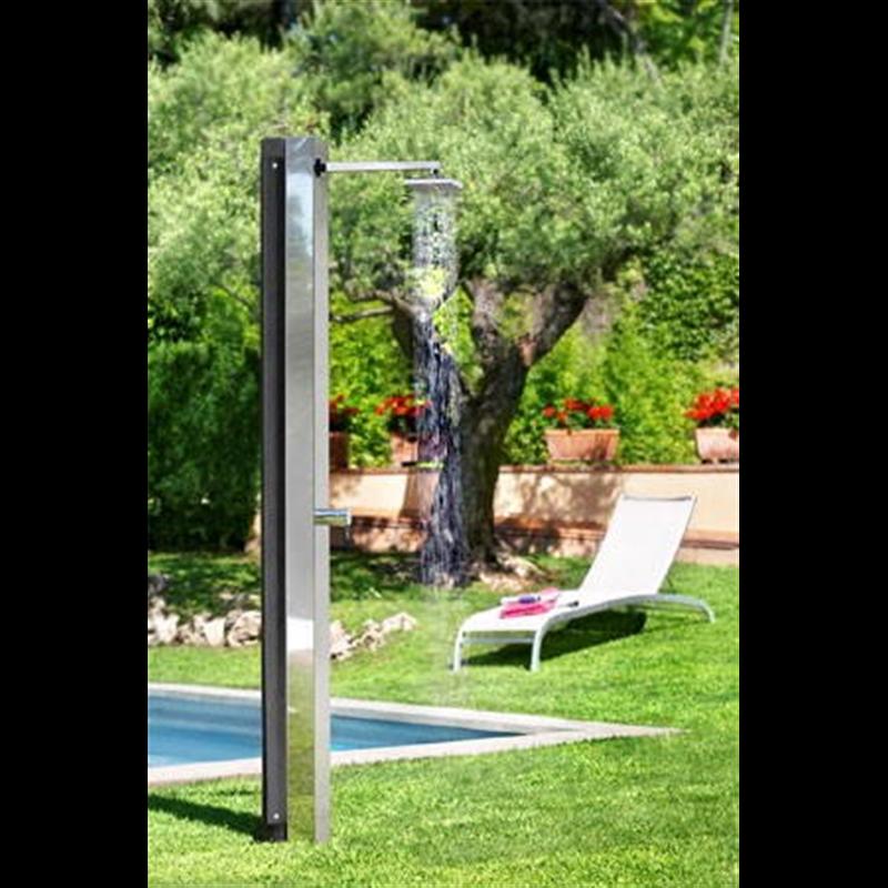 Douche solaire inox niagara 30 l a z piscine - Douche piscine solaire ...