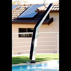 Douche solaire courbe Giordano 20 L couleur Bleu