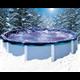 Bâche d'hiver diamètre 6,40 m